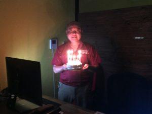 誕生日ケーキ森山さん